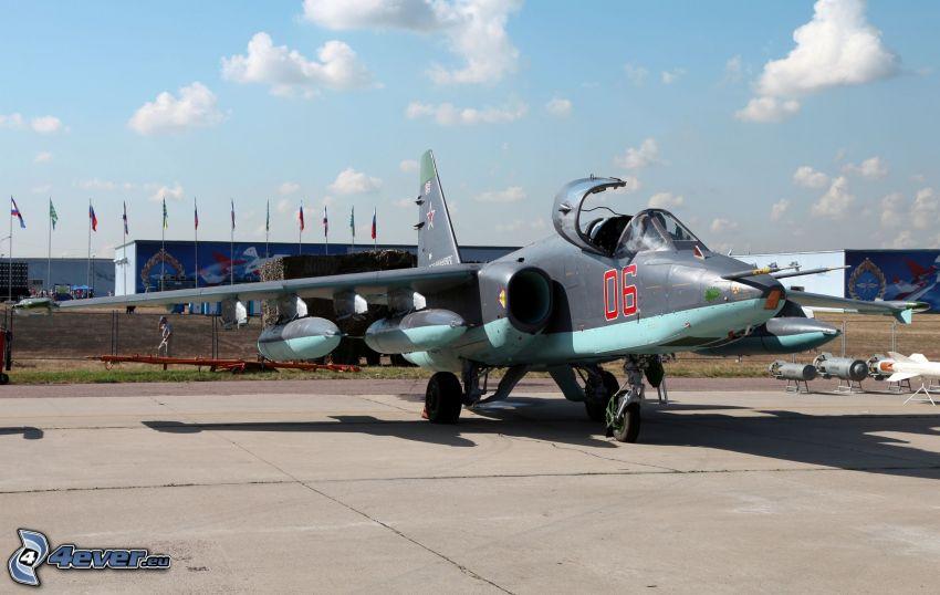 Sukhoi Su-25, lotnisko