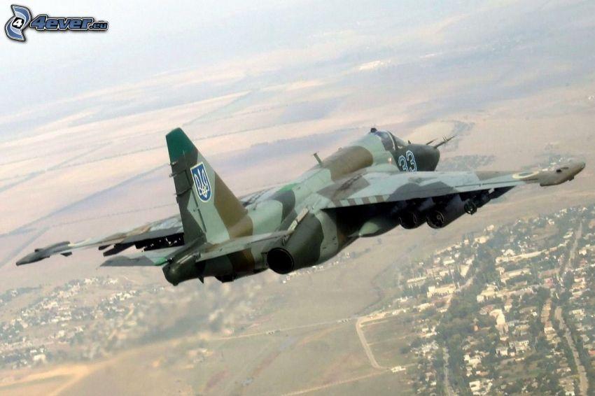 Sukhoi Su-25, widok