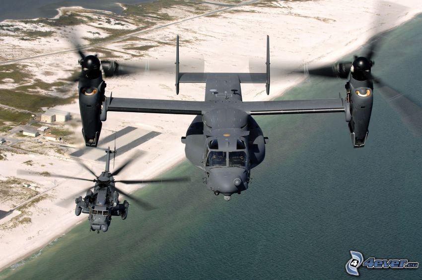 Bell Boeing V-22 Osprey, morze
