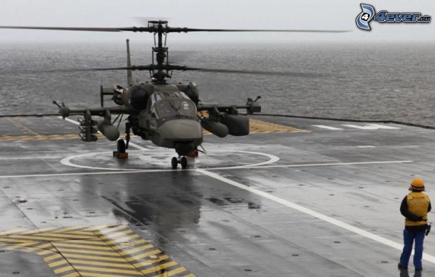 Ka-52, morze