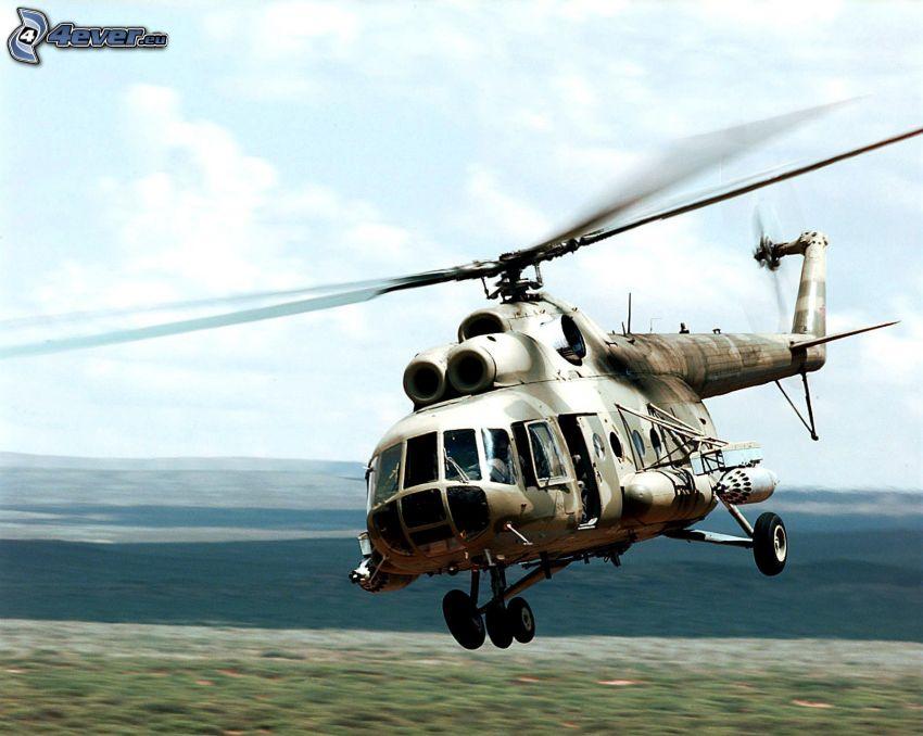 Mil Mi-8, wojsko