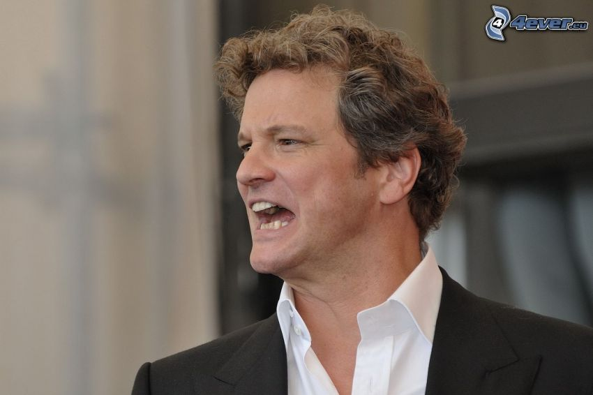 Colin Firth, ryk