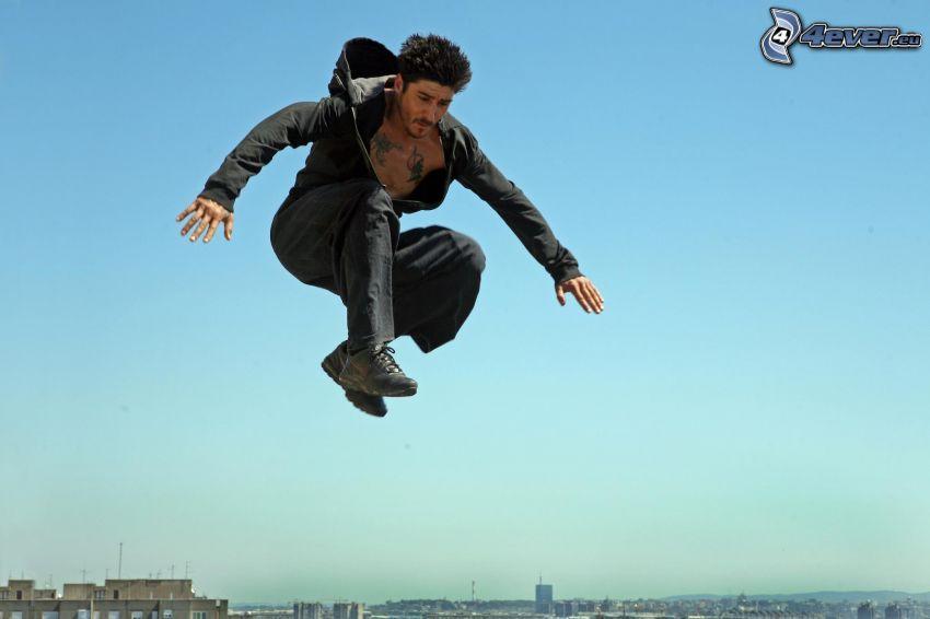 David Belle, skok