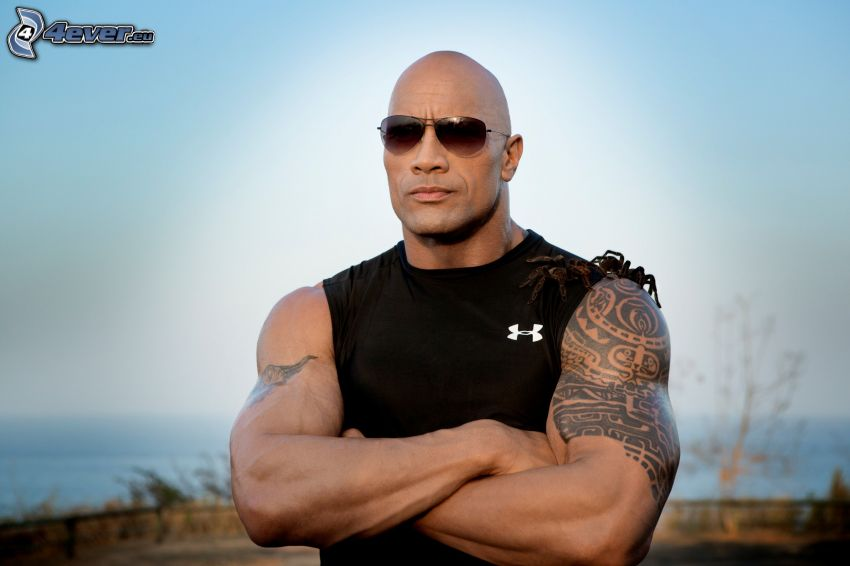 Dwayne Johnson, tarantula