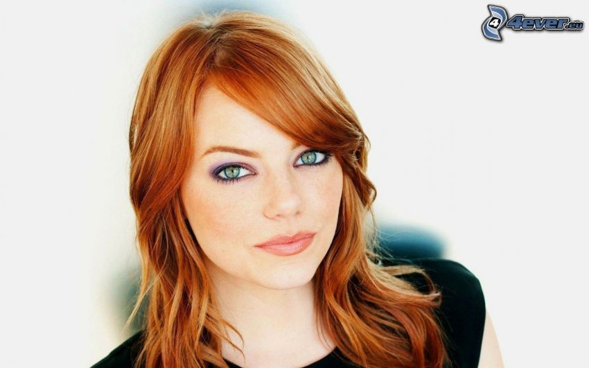 Emma Stone, rudowłosa