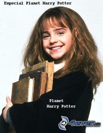 Hermiona Granger, stare książki