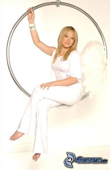 Hilary Duff, aktorka, anioł