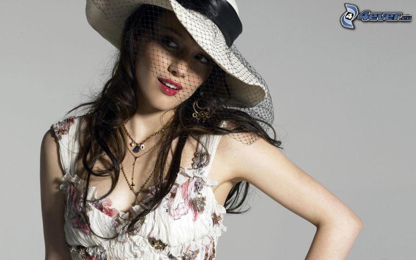 Hilary Duff, kapelusz