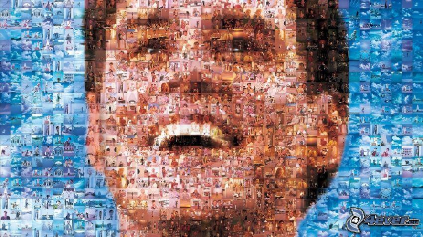 Jim Carrey, mozaika