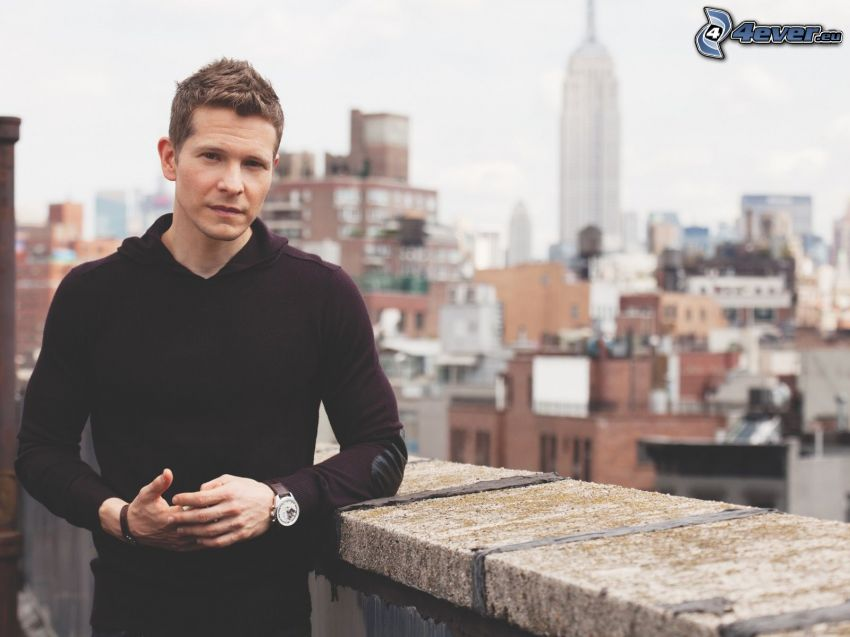 Matt Czuchry, Empire State Building, widok na miasto