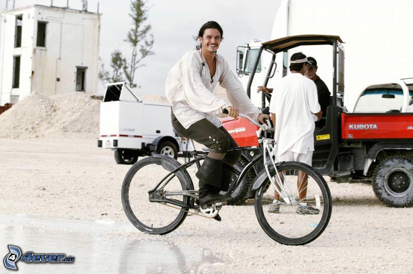 Orlando Bloom, rower