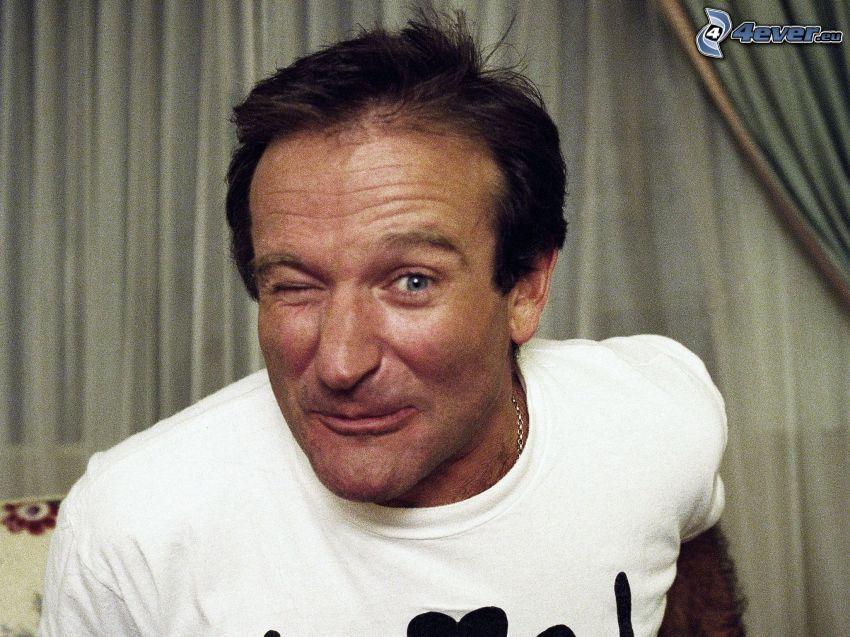 Robin Williams, mrugnięcie