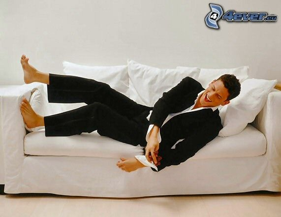 Wentworth Miller, Michael Scofield, Prison Break, model, sofa