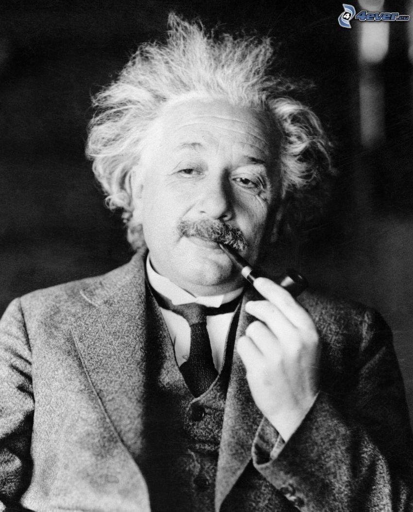 Albert Einstein, fajka