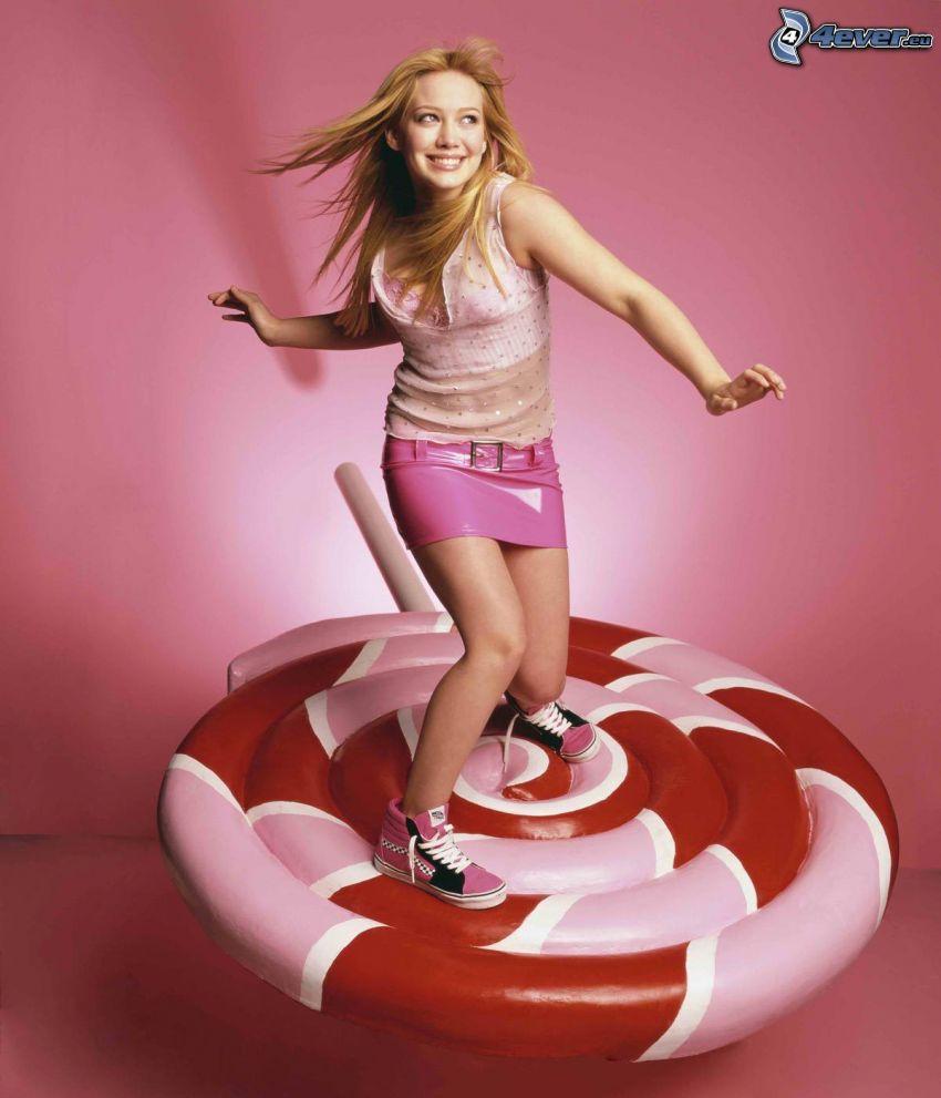 Hilary Duff, lizak