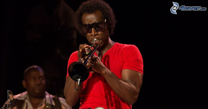 Miles Davis, gra na trąbce
