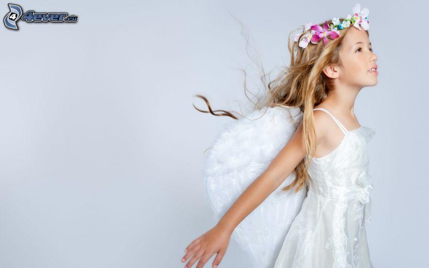 aniołek, dziewczyna