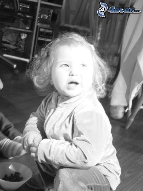 aniołek, dziewczynka