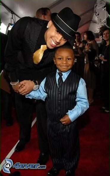 Chris Brown, chłopczyk