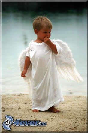 dziecko, anioł