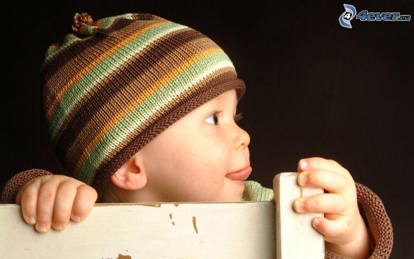 dziecko, czapka