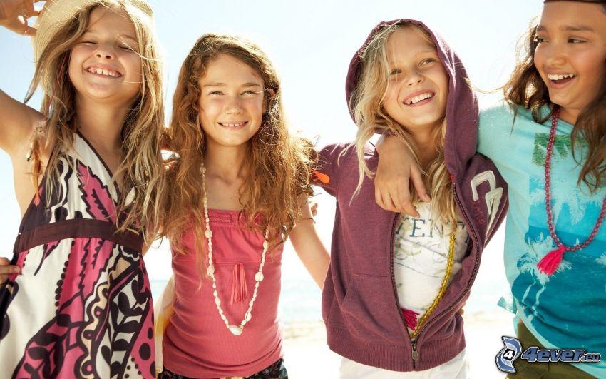 dziewczyny, dzieci
