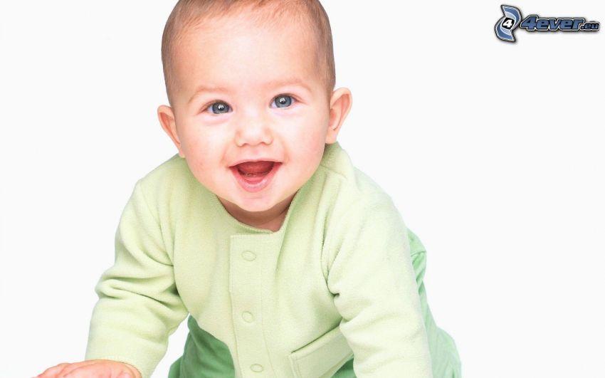 niemowlaki, uśmiech