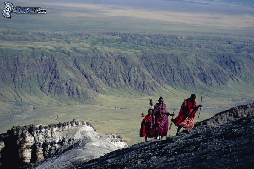 Murzyni, turystyka, Mountain of God, góry