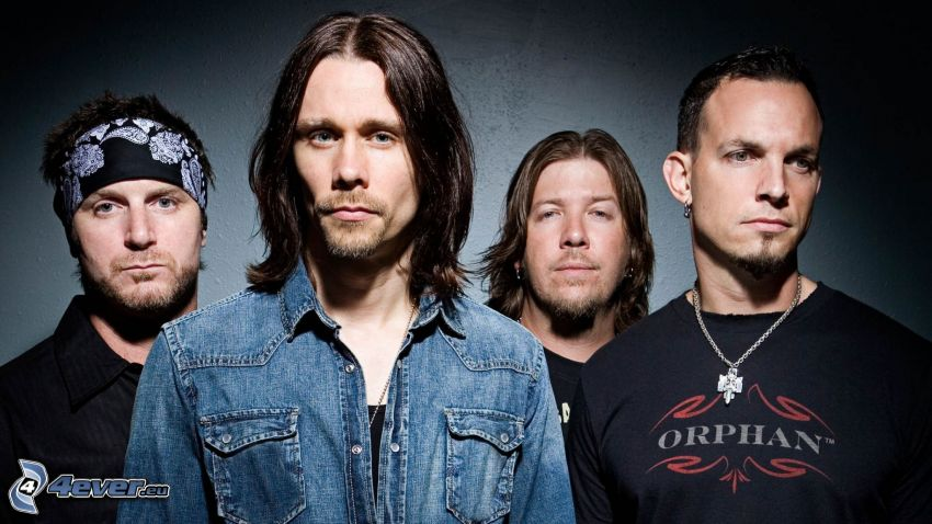 Alter Bridge, Myles Kennedy, Mark Tremonti, Brian Marshall, Scott Phillips