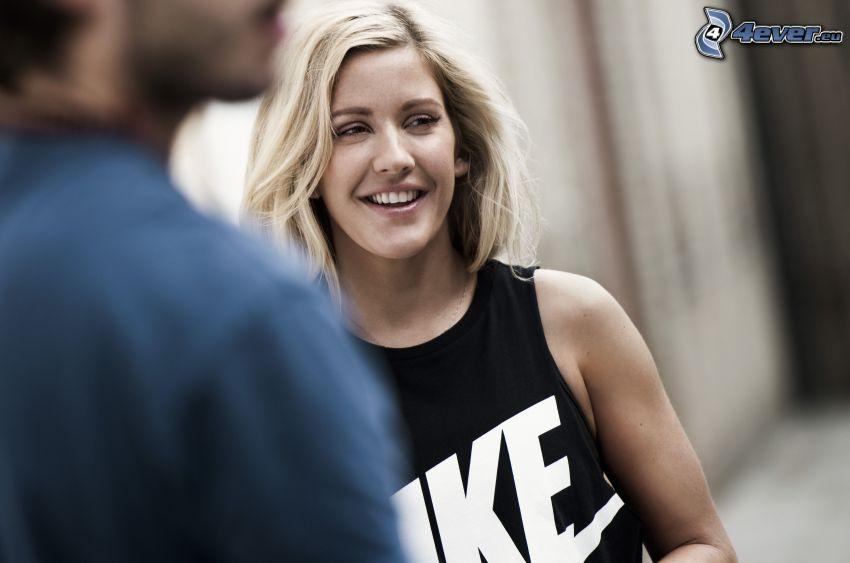 Ellie Goulding, uśmiech