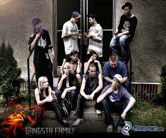 gangsta, rodzina