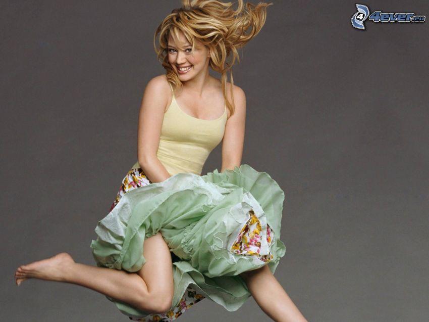 Hilary Duff, wyskok