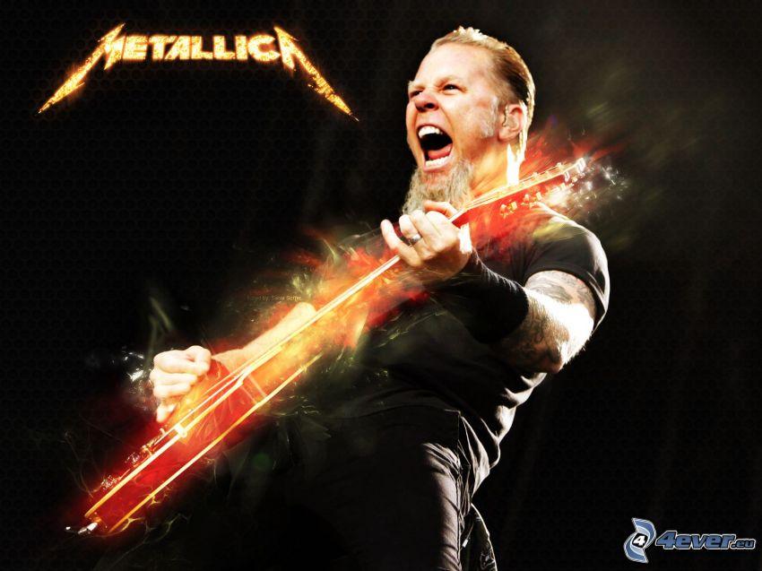 James Hetfield, Metallica, gitarzysta