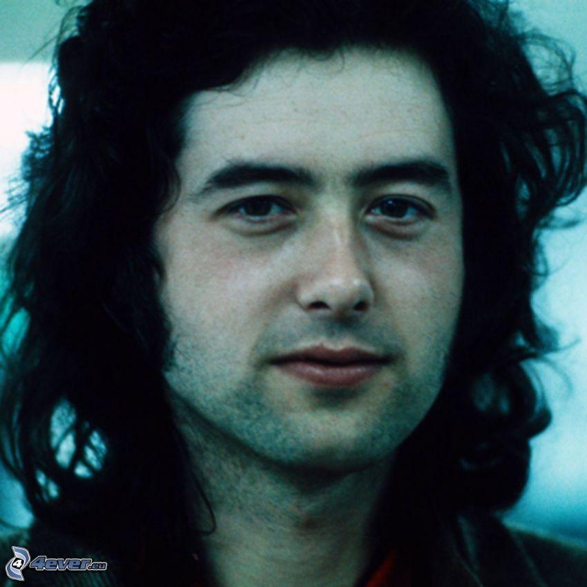 Jimmy Page, gitarzysta, w, młodości