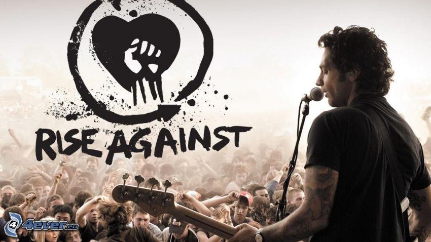 Rise Against, logo, koncert