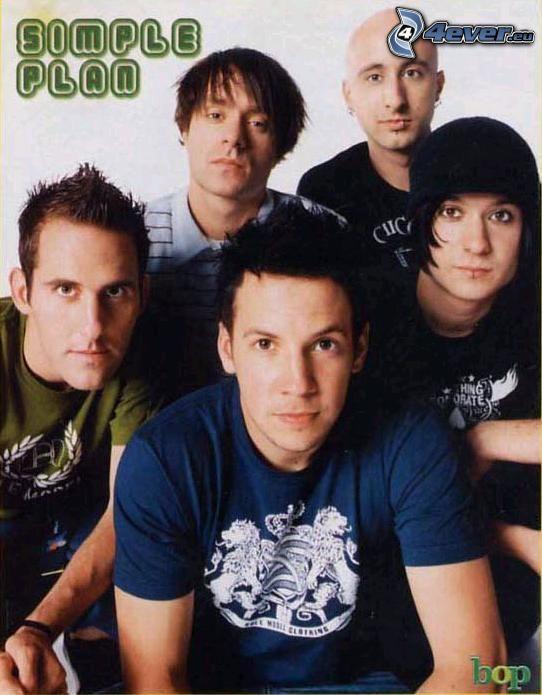 Simple Plan, muzyka, piosenkarze