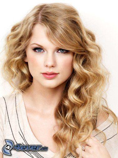 Taylor Swift, blondynka, niebieskie oczy
