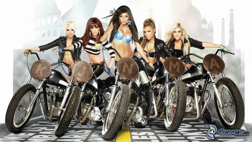 The Pussycat Dolls, motocykle