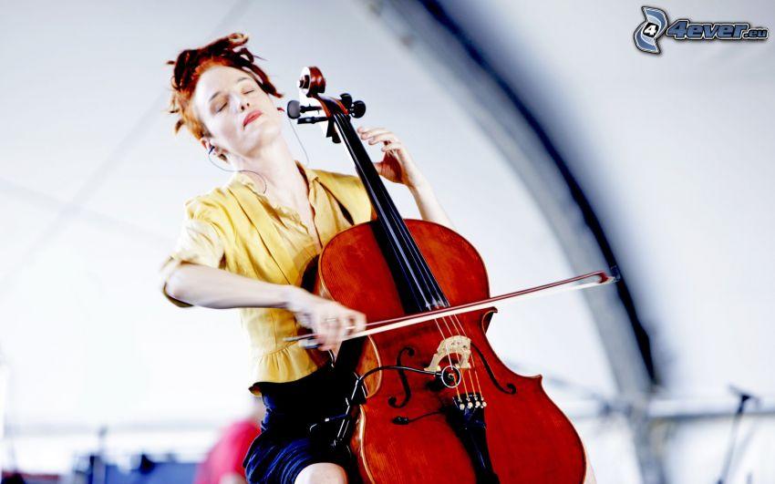 Zoë Keating, dziewczyna grająca na wiolonczeli