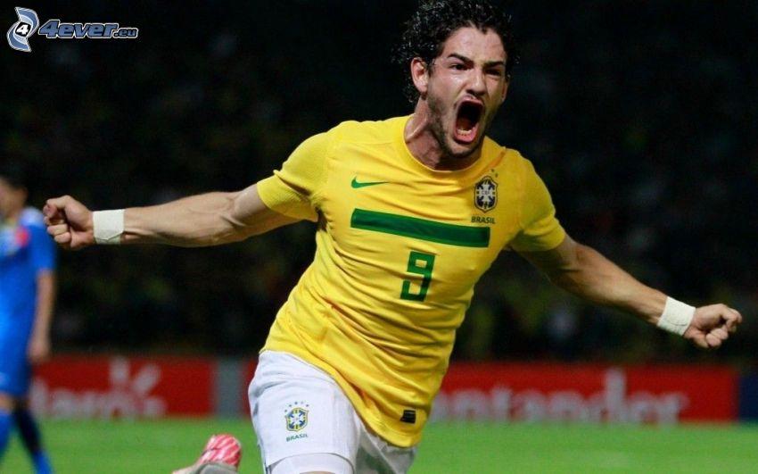 Alexandre Pato, radość