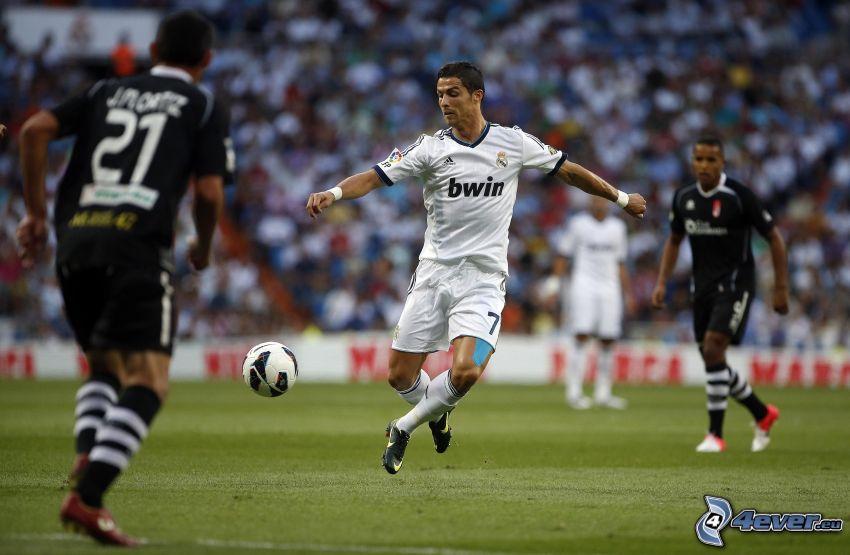 Cristiano Ronaldo, piłkarze, piłka nożna