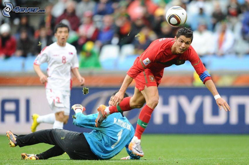 Cristiano Ronaldo, piłkarze