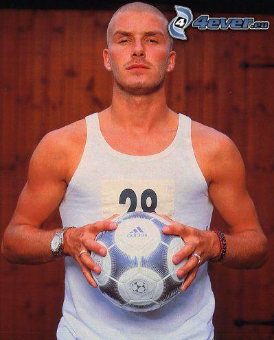 David Beckham, piłka nożna, piłka