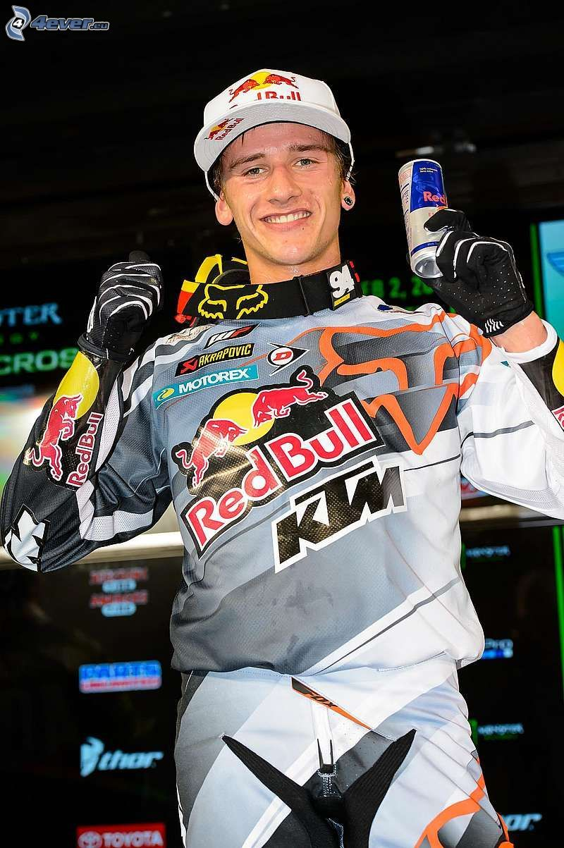 Ken Roczen, radość, Red Bull