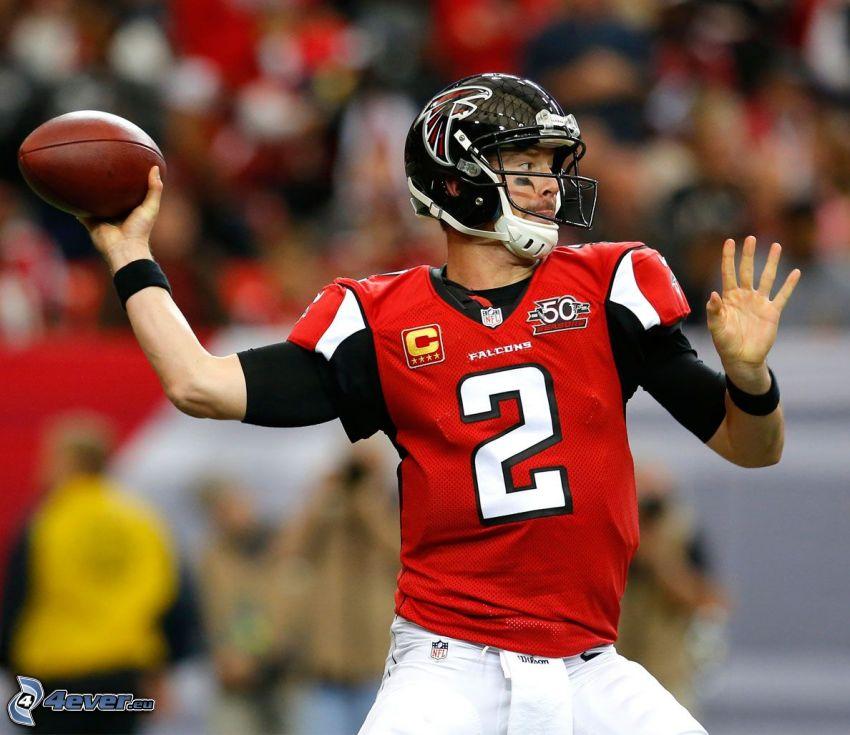 Matt Ryan, futbol amerykański, piłka