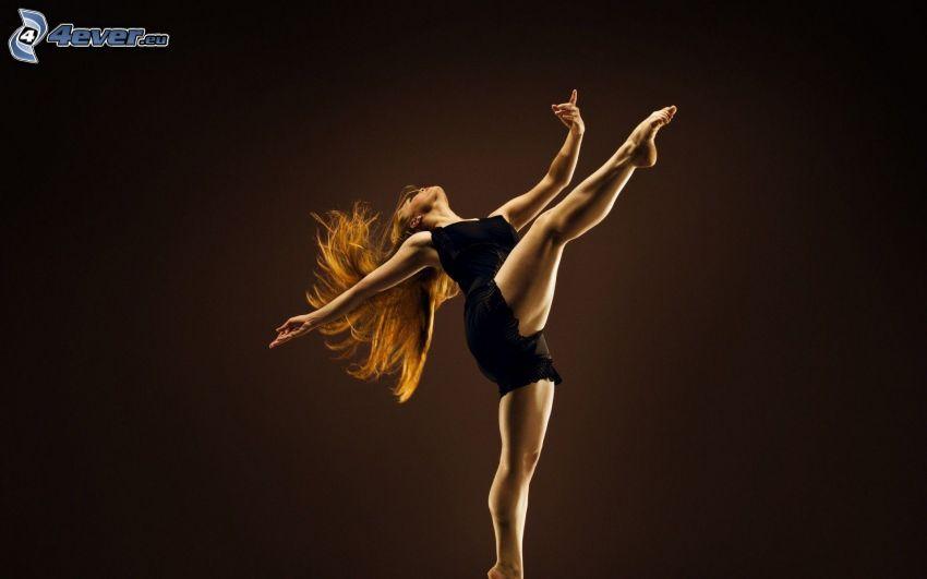 taniec, tancerka