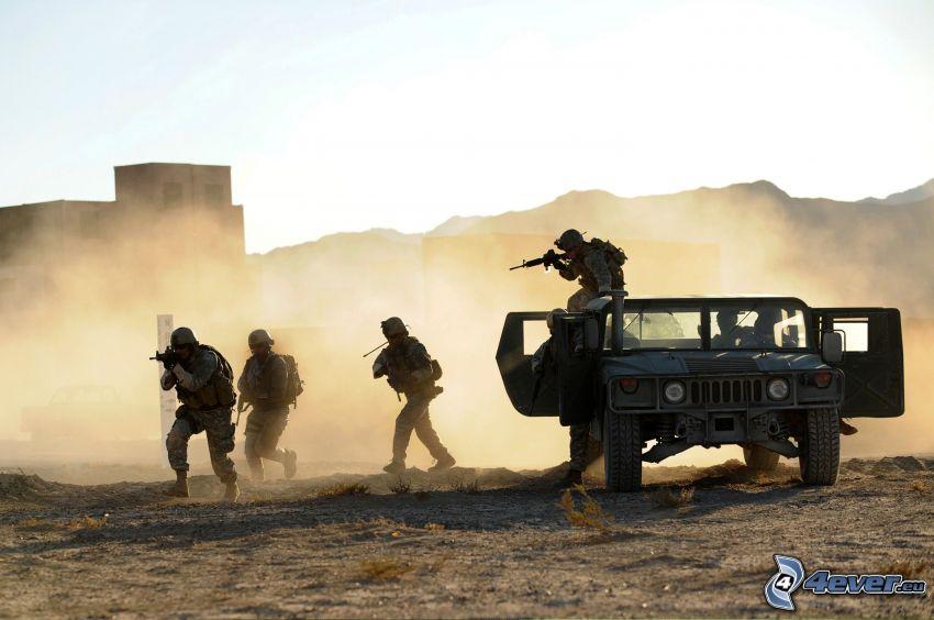 żołnierze, Hummer H1
