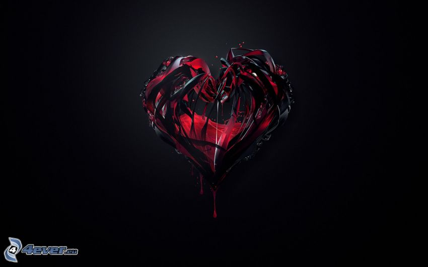 ciemne serce