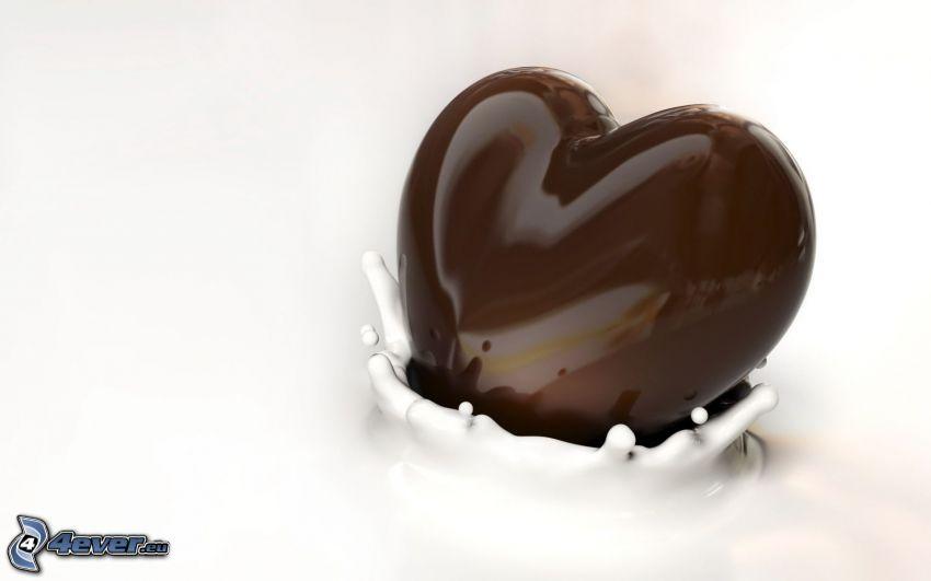 czekoladowe serca