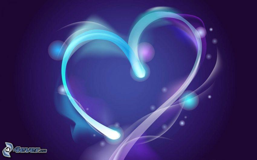 serduszko, serce rysowane